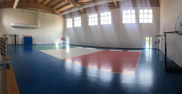 Palestra Ponte Taro Sport Leafness campo interno