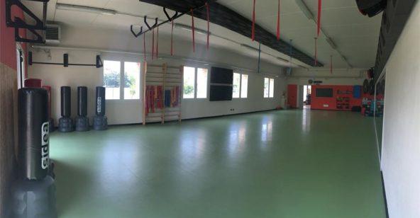Ponte Taro interno sala corsi Sport Leafness