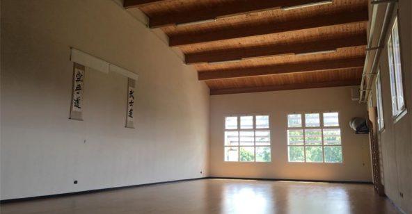 Ponte Taro sala interna arti marziali Sport Leafness