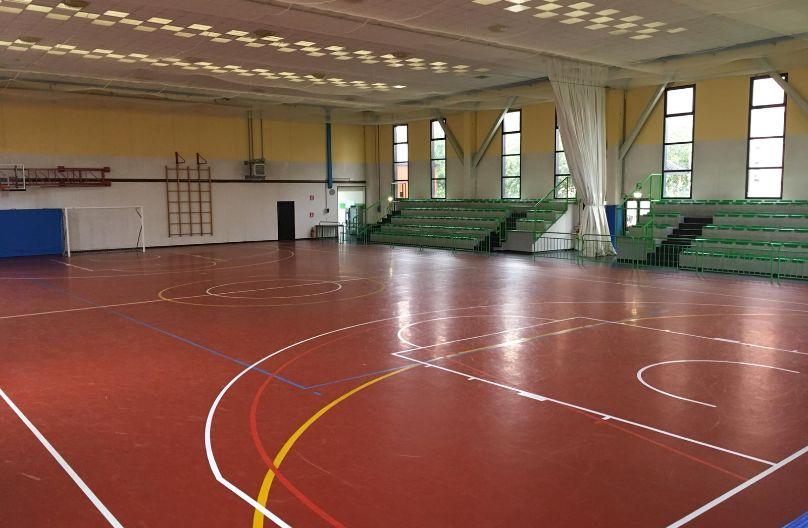 Palestra Fontevivo Sport Leafness campo interno